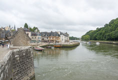 Auray in Brittany Royalty Free Stock Photo