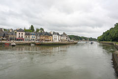 Auray in Brittany Stock Image