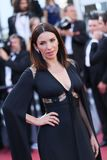 Aure Atika attends the screening of`Capharnaum`. During the 71st annual Cannes Film Festival at Palais des Festivals on May 17, 2018 in Cannes, France royalty free stock photography