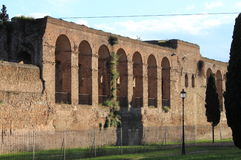 Aurelian Walls in Rome Royalty Free Stock Photography