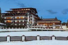 Aurelius旅馆, Poiana布拉索夫,罗马尼亚 图库摄影