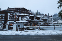 Aurelius Hotel, Poiana Brasov, Roemenië Stock Foto