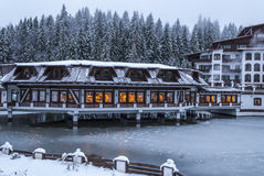 Aurelius Hotel, Poiana Brasov, Romania Royalty Free Stock Photography