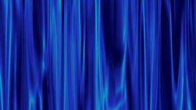 Aureola azul de la luz que brilla con la animación metrajes