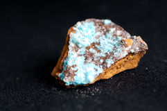 Aurichalcite mineral sample Royalty Free Stock Photography