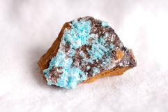 Aurichalcite mineral sample Royalty Free Stock Image