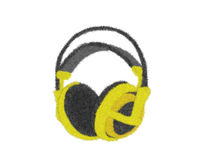 Auricular Imagen de archivo libre de regalías