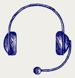 Auriculares Imagen de archivo