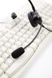 Auriculares Imagem de Stock