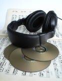 Auriculares Imagen de archivo libre de regalías