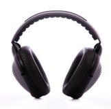 Auriculares audios Fotografía de archivo libre de regalías