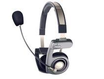 Auriculares com microfone Fotos de Stock