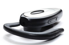 Auriculares de Bluetooth Imagens de Stock Royalty Free