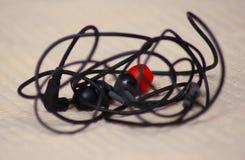Auriculares de la música Foto de archivo