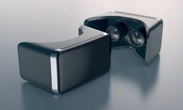 Auriculares de la realidad virtual Fotos de archivo libres de regalías