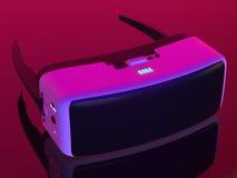 Auriculares de VR Imagen de archivo libre de regalías