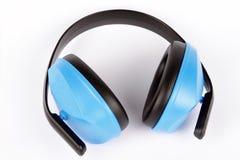 Auriculares do protector auricular Foto de Stock Royalty Free