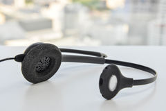 Auriculares do telefone do IP Foto de Stock Royalty Free