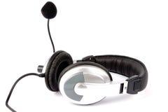 Auriculares e microfone   Fotos de Stock Royalty Free