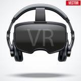 Auriculares originales de 3d VR Fotografía de archivo