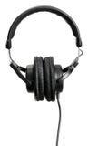 Auriculares profesionales de DJ/musician Foto de archivo