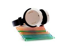 Auriculares sin hilos Fotografía de archivo