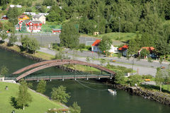 Aurlandfjord Royalty Free Stock Photo