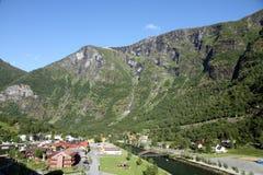 Aurlandfjord,sogn og Fjordane,Norway Royalty Free Stock Images