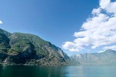 aurlandsfjord zdjęcie stock