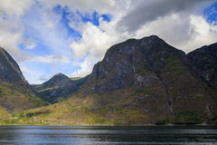 Aurlandsfjord, Norway Royalty Free Stock Photos