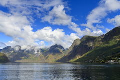 Aurlandsfjord, Norway Stock Photo