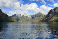 Aurlandsfjord, Norway Royalty Free Stock Images