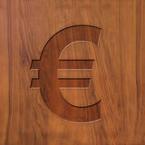 Auro sign on wood Stock Images