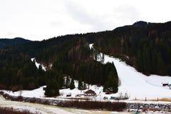 Auronzo Di Cadore, Dolomiti góry, Włochy Zdjęcie Stock
