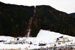Auronzo di Cadore, provincia di Belluno, montagne di Dolomiti, Italia Fotografie Stock Libere da Diritti