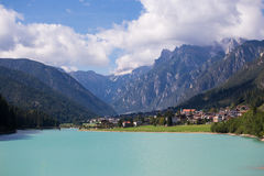 Auronzo di Cadore Royalty Free Stock Photos