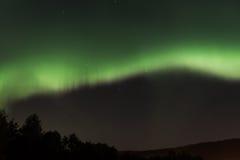 Aurora über Volda Lizenzfreie Stockfotografie
