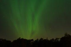 Aurora über Volda Stockfotos