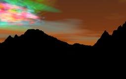 aurora Ελεύθερη απεικόνιση δικαιώματος