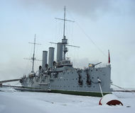 Aurora. Cruiser Aurora Royalty Free Stock Images