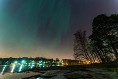 aurora Fotografie Stock