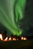 aurora Fotografia de Stock