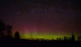 aurora fotografia stock libera da diritti