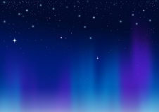 Aurora abstract background Stock Photo