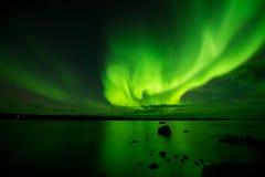 Aurora ardiente imagen de archivo