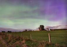 Farm under the southern night sky royalty free stock photos