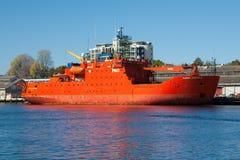 Aurora Australis Vessel Royalty Free Stock Photography