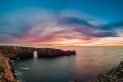 Aurora Balearic fotografie stock