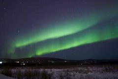 aurora band double Στοκ Φωτογραφία