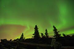 Aurora boreal Fotos de archivo